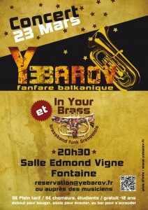 Concert Edmond Vigne 23 mars