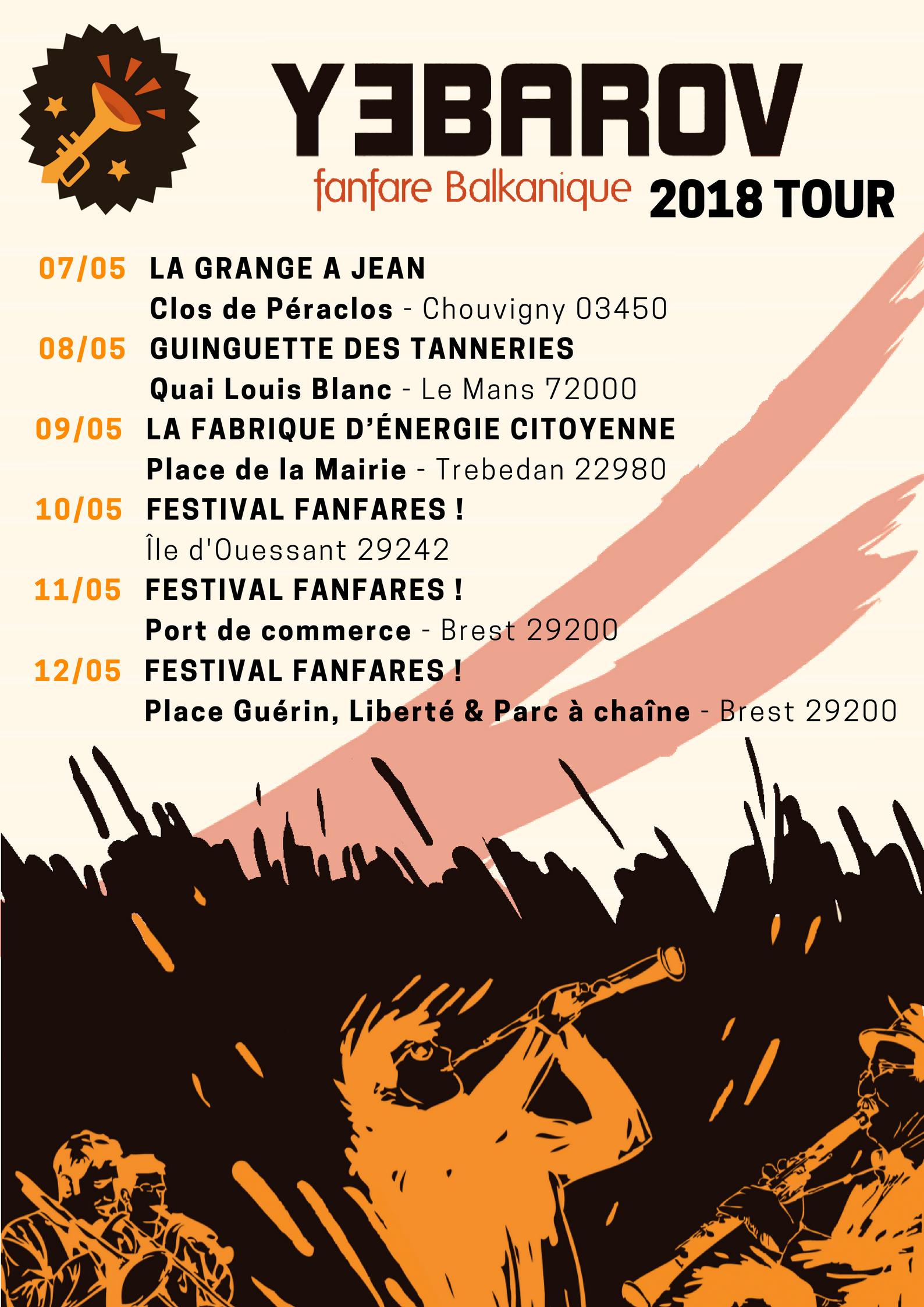 Yeb Tour 2018