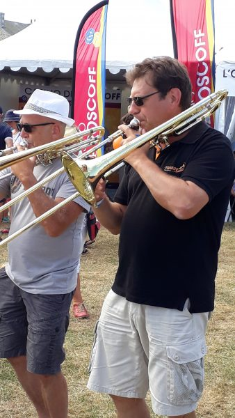 Les trombones François et Olivier