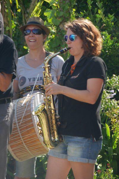 Myriam au Tapan et Marion Sax Alto